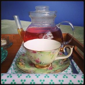 Teacup and pot