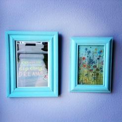 Two blue pics