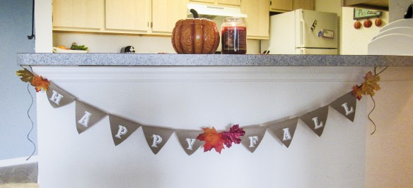 Fall Banner from Design Cents